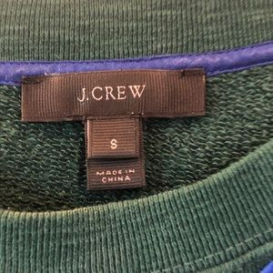 J. Crew Tops - J. Crew flower embroidery sweatshirt